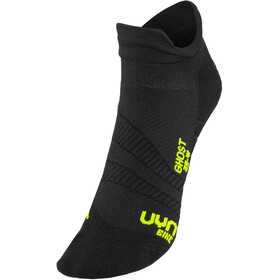 UYN Cycling Ghost Calcetines Hombre, black/yellow fluo